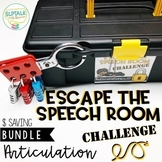 Escape the Speech Room Articulation Challenge: COMPLETE BUNDLE