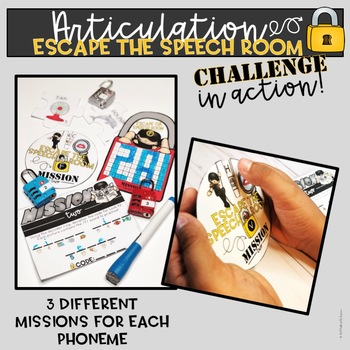 Escape the Speech Room Articulation Challenge: F and V