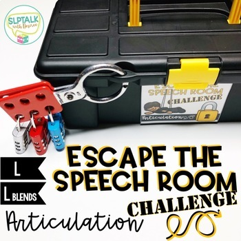Escape the Speech Room Articulation Challenge: L and L Blends