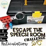 Escape the Speech Room Artic Challenge: R, Vocalic R & R B