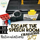Escape the Speech Room Articulation Challenge: SH and CH