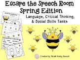 #springsavings Escape the Speech Room: Spring - Critical Thinking, Social Skills