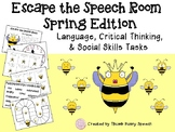 Escape the Speech Room: Spring Edition - Critical Thinking & Social Skills