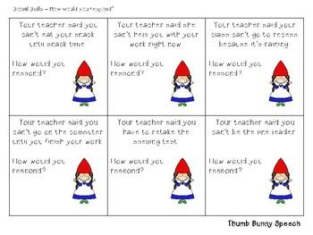Escape the Speech Room: Summer/Gnomes - Critical Thinking & Social Skills
