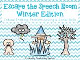 Escape the Speech Room: Winter - Critical Thinking, Proble