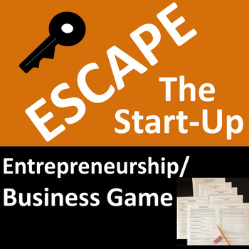 Entrepreneurship Business Game - Escape the Start-Up