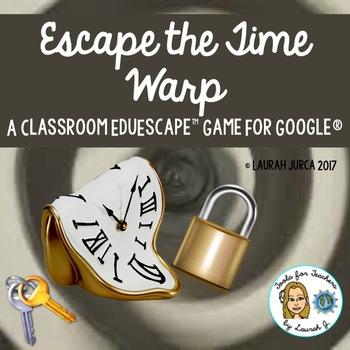 Escape the Time Warp: A New Year EduEscape™ Classroom Escape Game