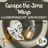 Escape the Time Warp: A New Year EduEscape™ Classroom Brea