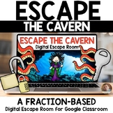 Escape the Underwater Cavern Digital FRACTION Escape Room