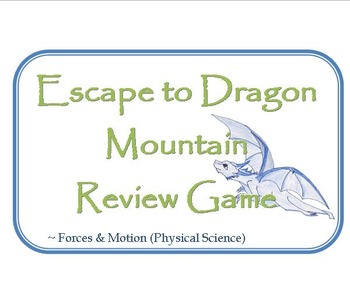 Escape to Dragon Mountain Forces and Motion