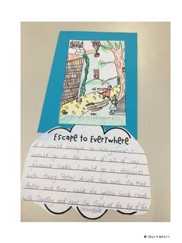 Escape to Everywhere Book Week Craftivity