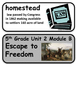 ReadyGen Escape to Freedom Vocabulary 5th grade Unit 2, module B