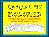 Escape to Vacation
