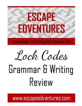 EscapeEdventures Digital Breakouts:  Grammar & Writing Review