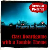 Escapen los Zombis - Irregular Preterite Board Game