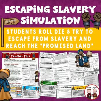 Underground Railroad Slavery Simulation