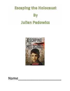 Escaping The Holocaust Lesson Bundle