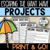 Escaping the Giant Wave - Individual or Small Group Leveled Novel Projects