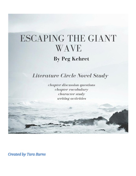 Escaping the Giant Wave Novel Study