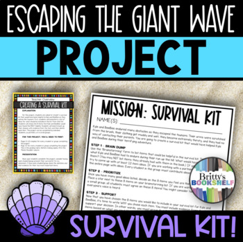 Escaping the Giant Wave by Peg Kehret - Survival Kit Novel Project