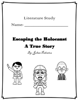 Escaping the Holocaust Novel Study