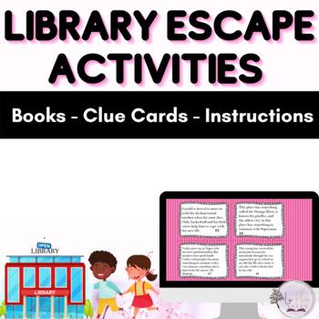 Library Escape! (Better than a book talk)