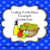 Escargot Coding Activities (2018-2019 SSYRA Jr. Title)