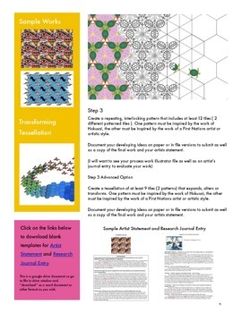 Escher Would be Proud: Exploring Culture and Design with Tessellations