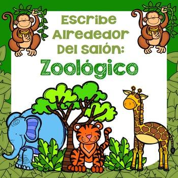 Escribe Alrededor Del Salón: Zoológico