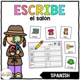 Escribe el Salón: Sonidos Iniciales (Spanish Write the Room: Beginning Sounds)