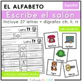 Escribe el Salón: Sonidos Iniciales (Spanish Write the Roo