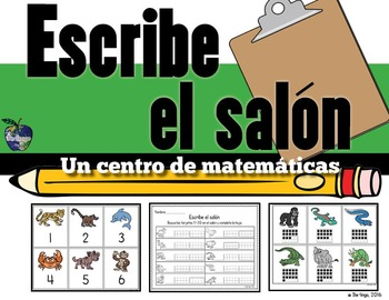 Escribe el salón (Spanish Write the Room)
