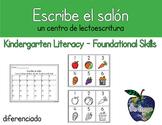 Escribe el salón - sonidos iniciales (Spanish Write the Room - Initial Sounds)