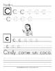 Escribe las Letras y Oraciones: Ejercicios de Letra Manuscrita