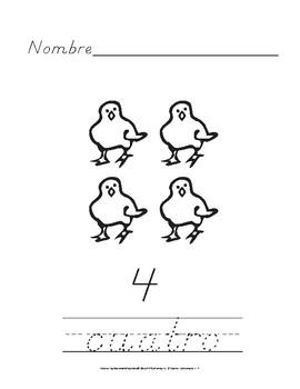Escribe los Números: Ejercicios para Practicar la Letra D´nealian