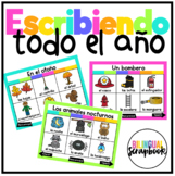 Escribiendo BUNDLE (Digital Vocabulary and Journal) - Distance Learning