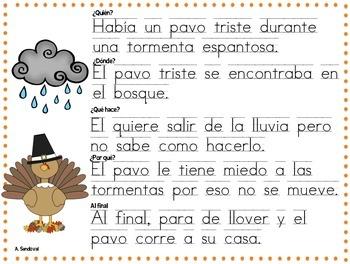Writing Paragraphs in Spanish-November