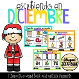 Escribiendo en Diciembre (Digital Vocabulary and Journal P