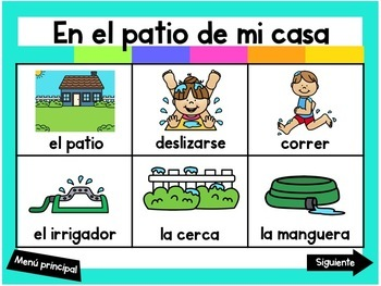 Escribiendo en Mayo (Digital Vocabulary and Journal Prompts for May)