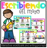Escribiendo en Mayo (Digital Vocabulary and Journal Prompt