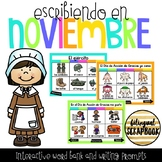 Escribiendo en Noviembre (Digital Vocabulary and Journal P