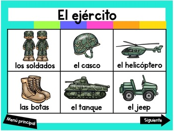Escribiendo en Noviembre (Digital Vocabulary and Journal Prompts for November)