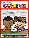 Leo los colores: Reading & Writing Spanish Color Words