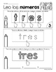 Leo los números: Reading & Writing Spanish Number Words