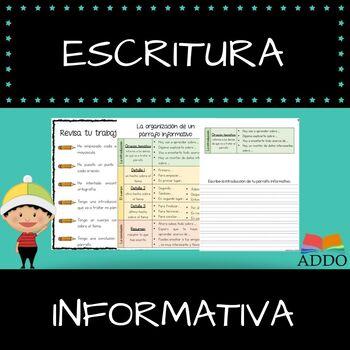 Escritura informativa - Informative Writing In Spanish