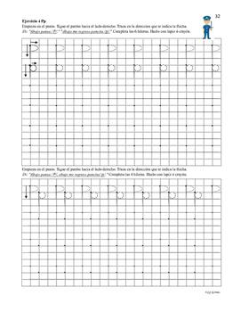 Escritura #2 Letras Ss, Pp, Ll, Tt, Dd, Nn.