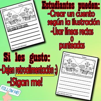 Escritura Creativa EGGI & MONSTERS INC! (Creative writing MASH-UP)