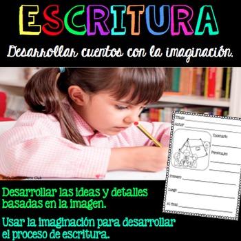 Escritura Creativa Grados K-1 / Creative Writing in Spanish Grades K-1
