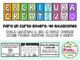 Escritura Creativa para un año entero: 40 situaciones