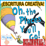 Escritura Creativa OH THE PLACES YOU'LL GO y MINECRAFT(Creative writing MASH-UP)